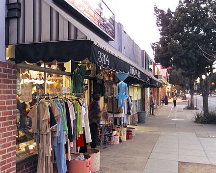 Vintage clothing shops in the Magnolia Park area of Burbank. Vintage shop magnolia park burbank.jpg