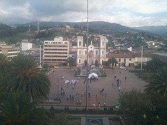 Sogamoso - Image: Vista Panorámica Plaza De La Villa Sogamoso