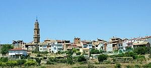 Bajo Aragón - View of Mas de las Matas.