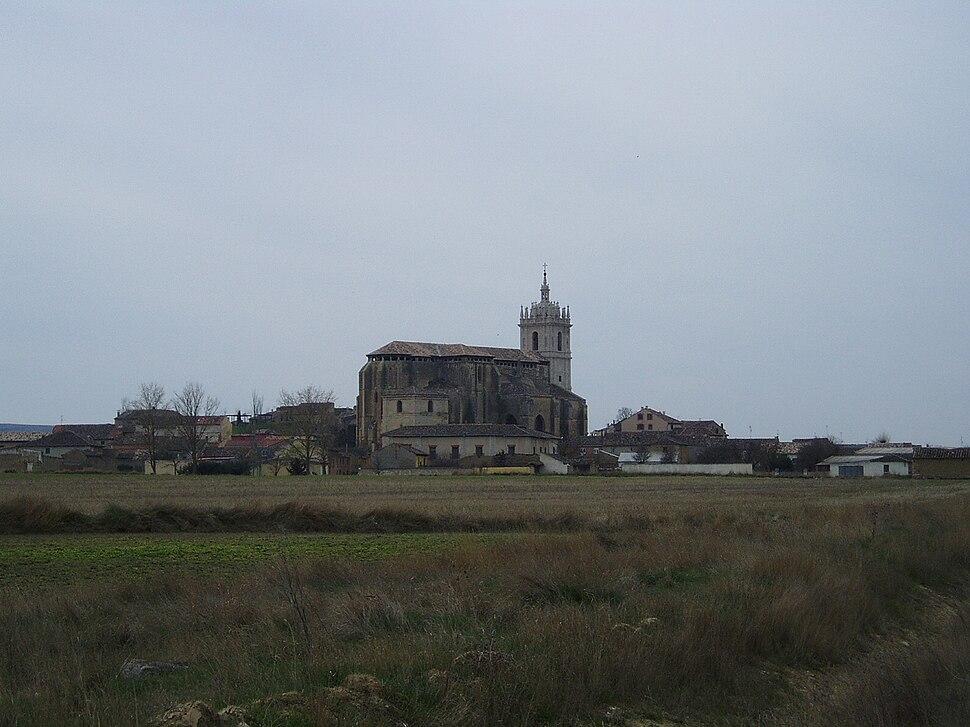Vista de Támara de Campos