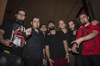 Viza - Band picture taken at Troubadour, Los Angeles, in 2012.