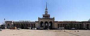 Abkhazian railway - Image: Vokzal 1