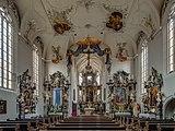 Volkach St.Bartholomäus Interior 5201385 HDR.jpg