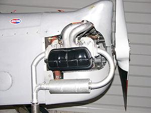 Volkswagen air-cooled engine - Volkswagen air-cooled engine installed in an Evans VP-1 Volksplane