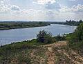 Volodarsk. West end of Oka River Backwaters.jpg