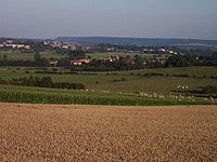 Vue sur le village de Cesse.JPG