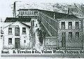 Vulcan Works R Thwaites and Co Thornton Road Bradford lithograph 1858.jpg
