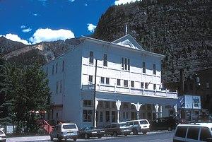 Western Hotel (Ouray, Colorado) - Image: WESTERN HOTEL IN OURAY, COLORADO