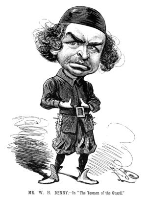 Alfred Bryan (illustrator) - Image: W H Denny Entr'acte