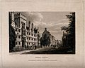 Wadham College, Oxford; panoramic view including Hertford Co Wellcome V0014188.jpg