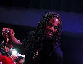 bcfabbdf1517 Waka Flocka Flame tijdens een optreden op 6 augustus 2014 in de London Hall  in Londen