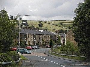 Cliviger -  Older housing in Walk Mill
