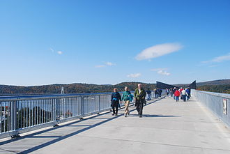 Footbridge - A section of the Poughkeepsie Bridge