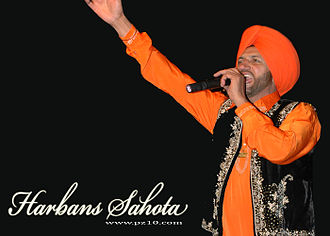 Bhangra (music) - Bhangra lyrics, which generally cover social issues or love, are sung in Punjabi