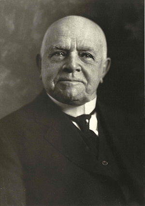 Walter W. Law - The last photograph taken of Walter Law, in December 1923