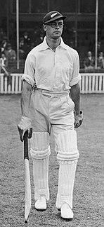 Walter Hadlee New Zealand cricketer