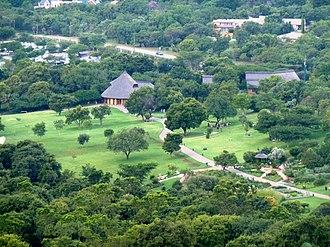 Walter Sisulu National Botanical Garden - The reception area of the garden
