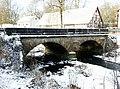 Waltershausen (Saal a.d. Saal) Steinbrücke Ostansicht.jpg