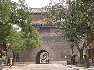 Wanping Fortress - The east gate of the Wanping Fortress