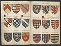 Wapenboek Beyeren (armorial) - KB79K21 - folios 035v (left) and 049r (right).jpg