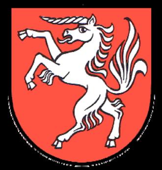 Oberried, Baden-Württemberg - Image: Wappen Oberried Breisgau