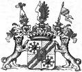 Wappen der Reichsgrafen Basselet von La Rosée 1764.png