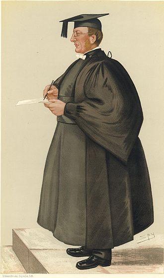 """Edmond Warre - E Warre """"The Head"""" by Spy (Vanity Fair caricatures)"""