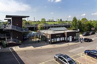 Warwick Parkway railway station - Image: Warwick Parkway Station, geograph 3987386 by David P Howard