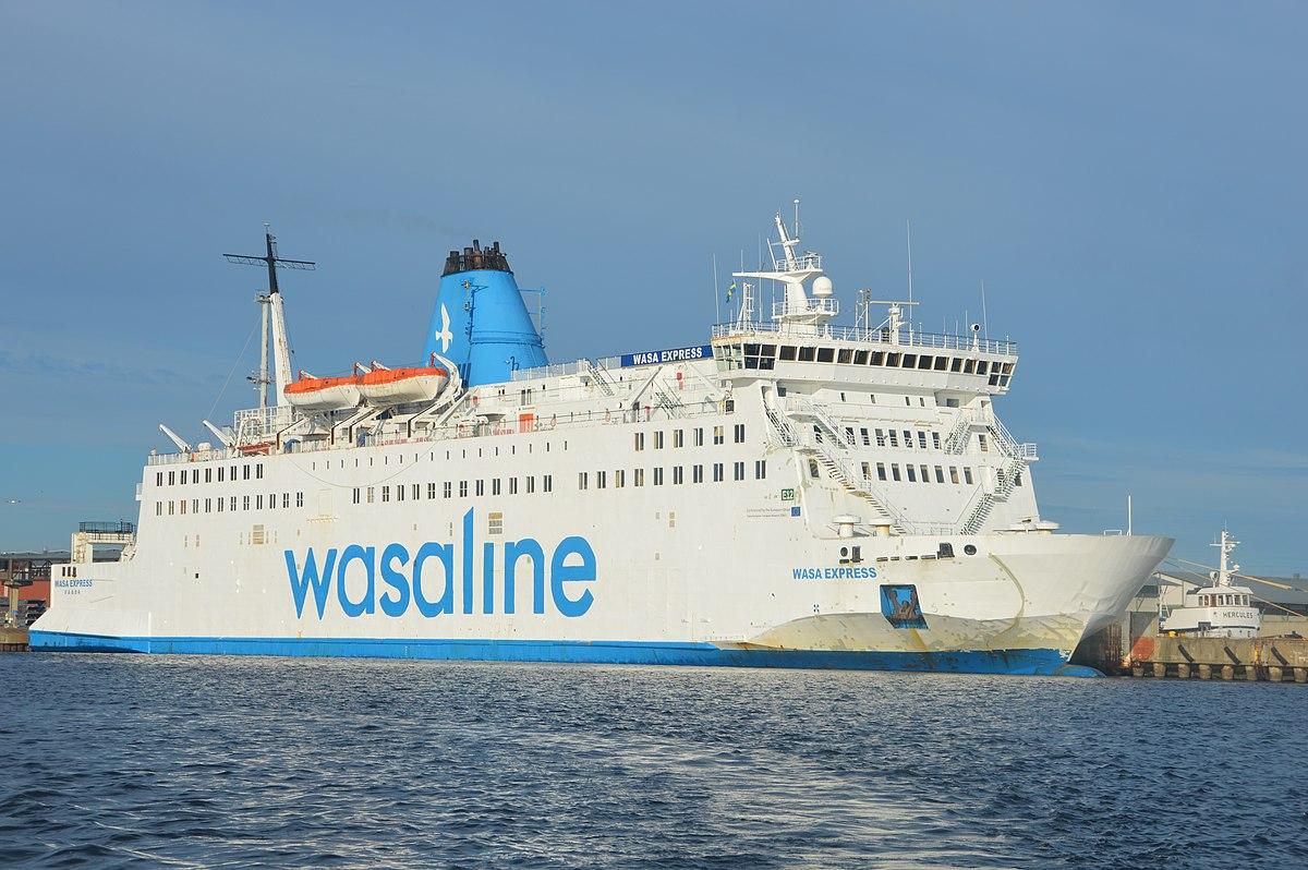 Laiva Vaasa Uumaja 2021