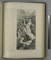 Waterfall of the Upper Barada, near Zebedâny. Here the stream is augmented by the outfall of Wâdy el Kûrn (NYPL b10607452-80542).tiff