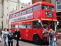 Wedding bus in Cambridge, England - DSCF2221.JPG