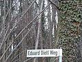 Wegname beim Dietl-Gedenkstein-Eduard Dietl Weg.JPG