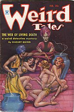 Weird Tales cover image for February 1935