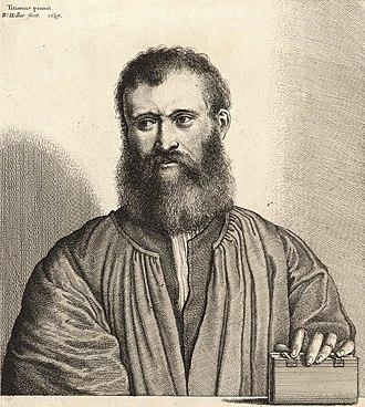 Giovanni della Casa - Giovanni della Casa by Wenceslas Hollar