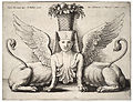 Wenceslas Hollar - Sphinx with two bodies, after Giulio Romano.jpg