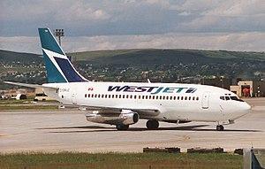 WestJet - Boeing 737-200