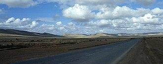Western Sahara - North Western Sahara landscape.