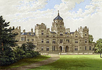 Old engraving of Westonbirt House