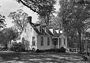 Wigwam (Chula, Virginia) - The Wigwam – home of Virginia Governor William Branch Giles and the Harrison family