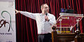 WikiConference India 2011 Jimmy Wales 3.jpg