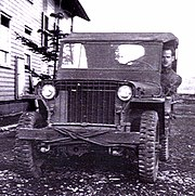 World War II era Willys jeep