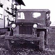 World War II era Willys jeep