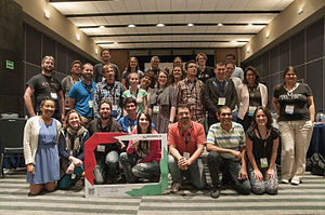 Group Photo at Wikimania México Learning Day