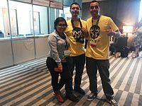 Wikimania 2015-Thursday-Volunteers (9).jpg