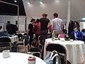 Wikimania 2019 Hackathon room 2 pizza - 2.jpg