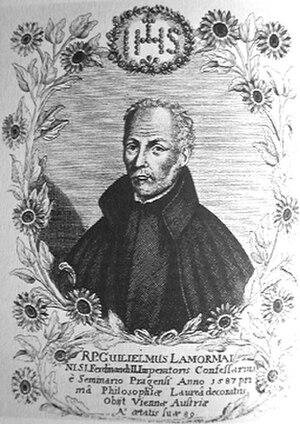 Wilhelm Lamormaini - Wilhelm Lamormaini, 16th-century engraving