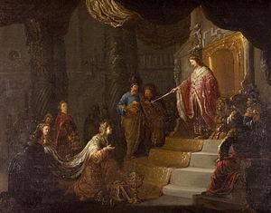 Willem de Poorter - Queen of Sheba, ca.1645.
