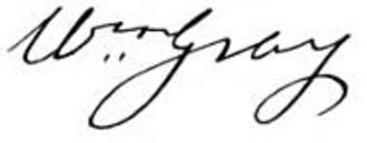 William Gray (Massachusetts) - Image: William Gray signature