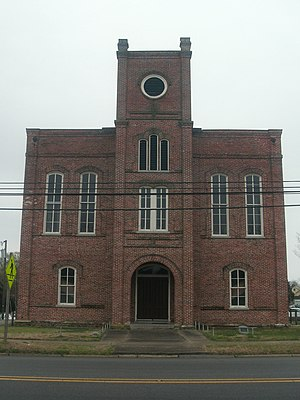 Historic Martin County Courthouse in Williamston.