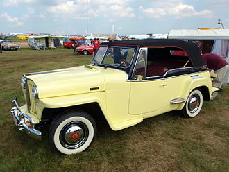 Phaeton body - 1948 Willys-Overland Jeepster, the last phaeton to be made by an American manufacturer